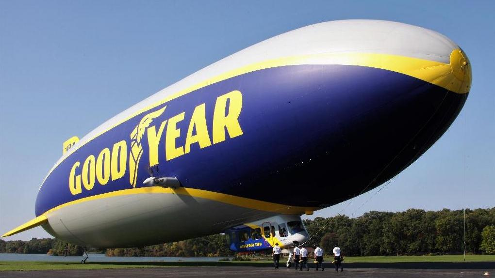 Airbnb is partnering with Goodyear to offer college football fans the chance to spend the night in the Goodyear blimp. FOX Business' Cheryl Casone with more.