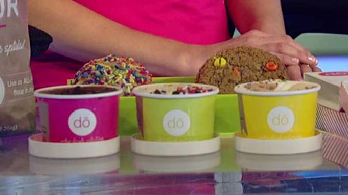 DŌ Cookie Dough Confections CEO and founder Kristen Tomlan talks about her success in selling edible and bakeable cookie dough.