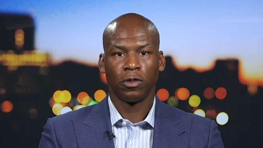 Former NBA player Al Harrington on Houston Rockets General Manager Daryl Morey's tweet about China and NBA players refraining from condemning Chinese human rights abuses for the sake of their own wallets.