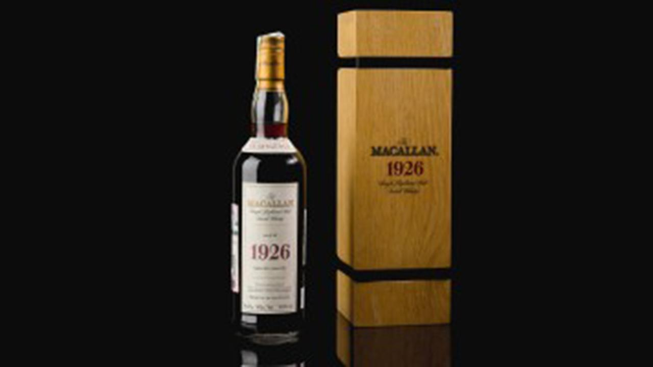 Record-setting scotch whisky fetched $1.9 million at a Sotheby's auction in London. Radio host Mike Gunzelman with more.