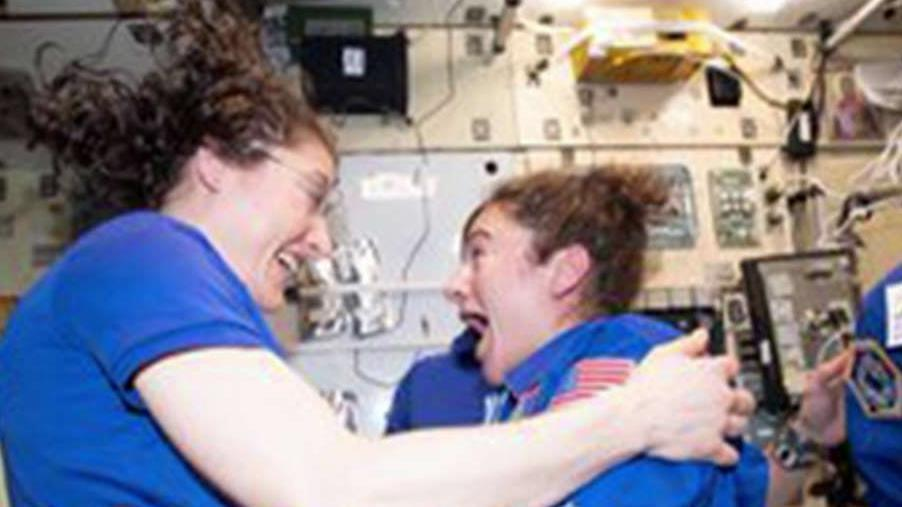 Fox News' Phil Keating and aspiring astronaut Abby Harrison discuss the first all-female spacewalk by Christina Koch and Jessica Meir.