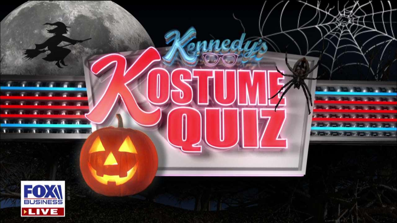 A 'Kennedy' panel plays a new Halloween trivia game called, 'Kostume Quiz.'