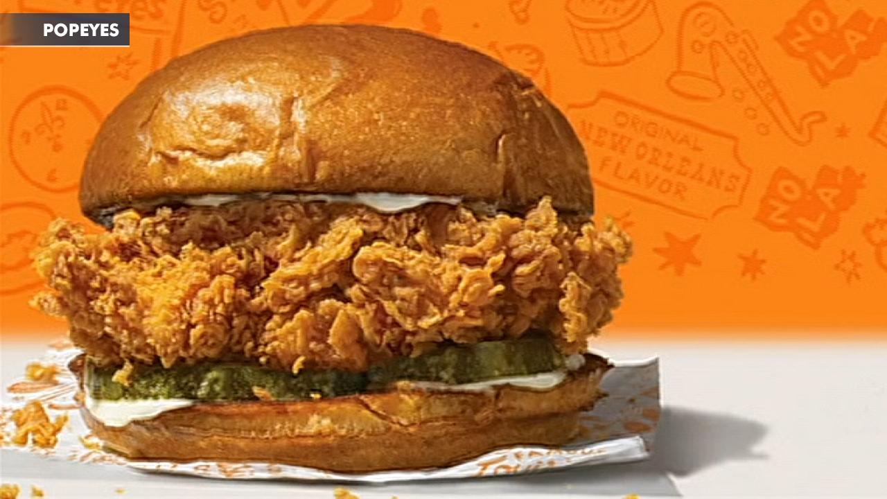 Morning Business Outlook: Popeyes is bringing back their popular chicken sandwich that sent the country into a frenzy and sold out just two weeks after its debut; Tiffany is selling its first-ever Advent calendar, filled with jewelry and other items, with a hefty price tag of $112,000.