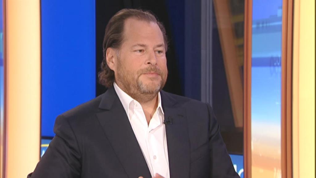 Facebook is 'addictive' and 'bad for you,' if you ask Salesforce co-CEO Marc Benioff.