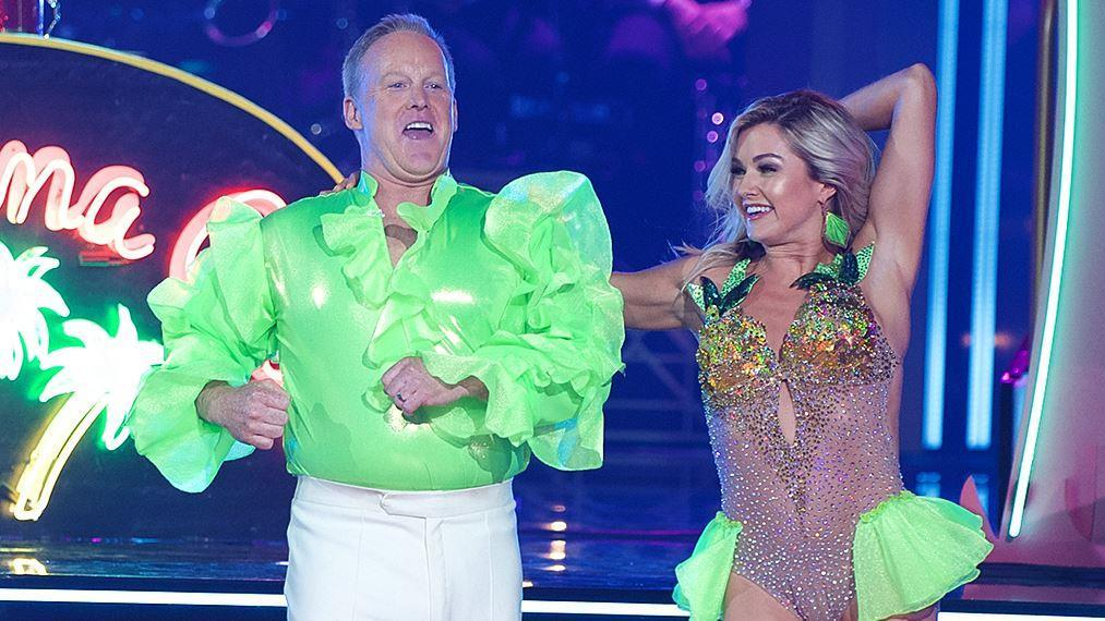 Former White House press secretary Sean Spicer discusses his performances on 'Dancing with the Stars' and the accompanying charity work.