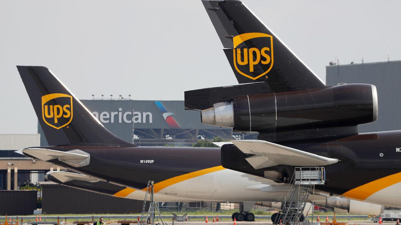 UPS CEO David Abney is gearing up for a busy holiday season with more buildings and aircraft. He also said that the USMCA is a bright spot and weighed in on becoming the first FAA-approved drone delivery company.