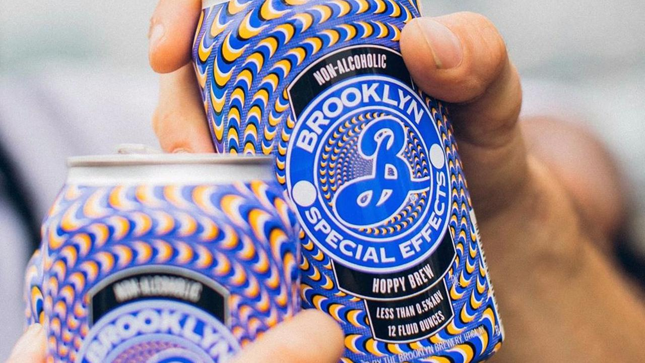 FOX Business' Kristina Partsinevolos on Brooklyn Brewery's launch of non-alcoholic beer and tries it out.