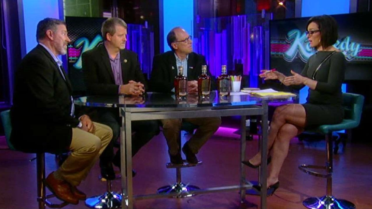 Three veterans --retired Army Master Sergeant Scott Neil, retired Army Captain Mark Nutsch andretired Amry Chief Warrant Officer Bob Pennington -- talk with FOX Business about founding a distillery.