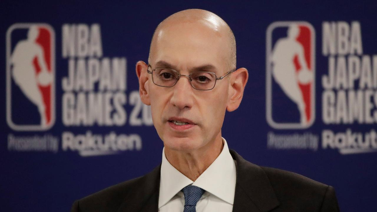 "NBA Commissioner Adam Silver said Houston Rockets general manager Daryl Morey ""enjoys"" the right of freedom of expression, during a press conference, following Chinese State TV halting NBA broadcasts. FOX Business' ""Mornings with Maria"" weighs in."