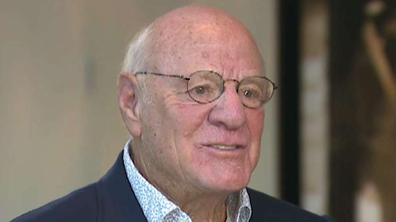 IAC and Expedia Chairman Barry Diller discusses the decision to delay spinning off Angie's List.
