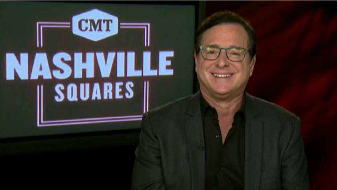 Actor and comedian Bob Saget on hosting CMT's new game show 'Nashville Squares' and the country music legends who will be featured.