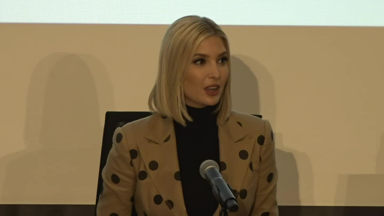 Adviser to the president Ivanka Trump visits Wichita State University to discuss the growing job market in aviation.
