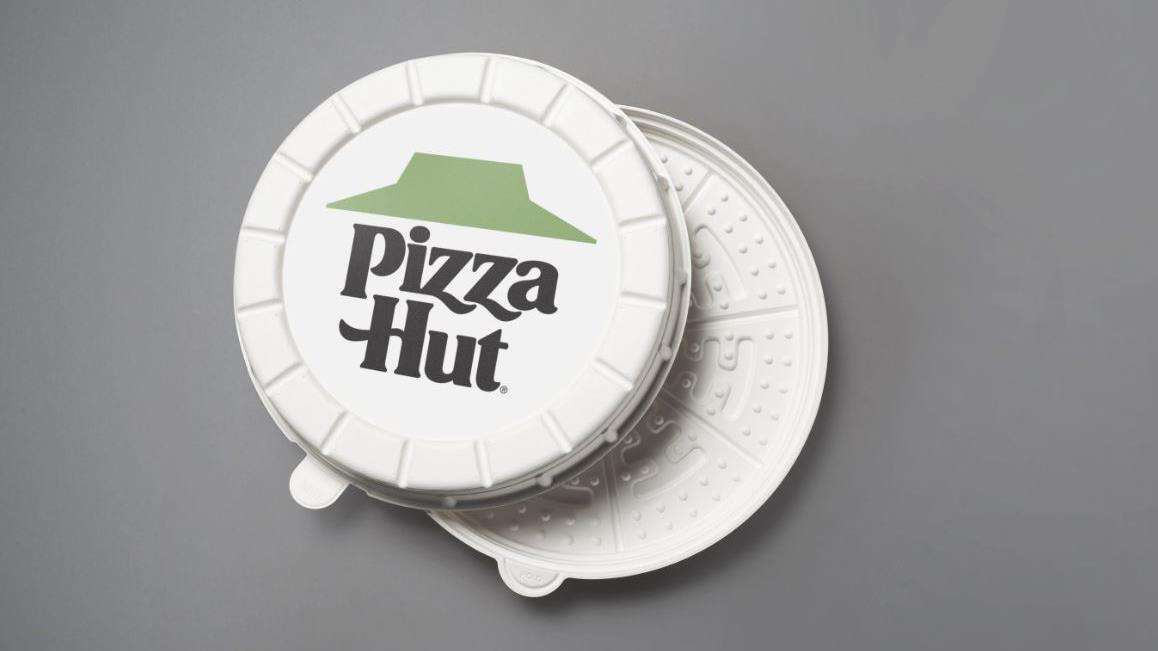A Pizza Hut in Phoenix is testing 'Incogmeato' plant-based sausage and round pizza boxes while supplies last. FOX Business' Cheryl Casone with more.