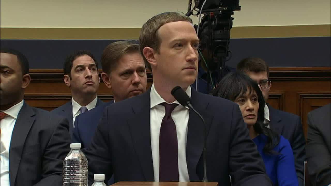 Rep. Roger Williams, R-Texas, asks Facebook's Mark Zuckerberg if he's a socialist or a capitalist.