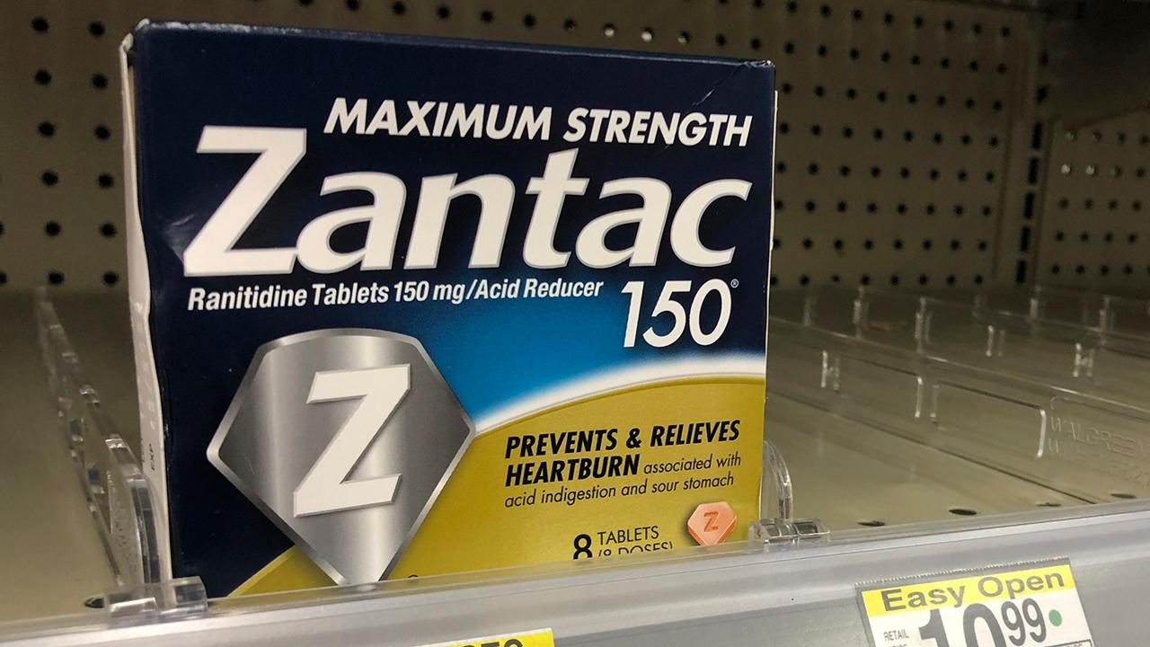Fox Business Briefs: Stores are dropping Zantac from their shelves over risks it contains a substance that could cause cancer. ATM fees now at rate of $4.72 for an out-of-network withdrawal, an increase of 33 percent. New technology could create a substantial job-cut in the banking industry.