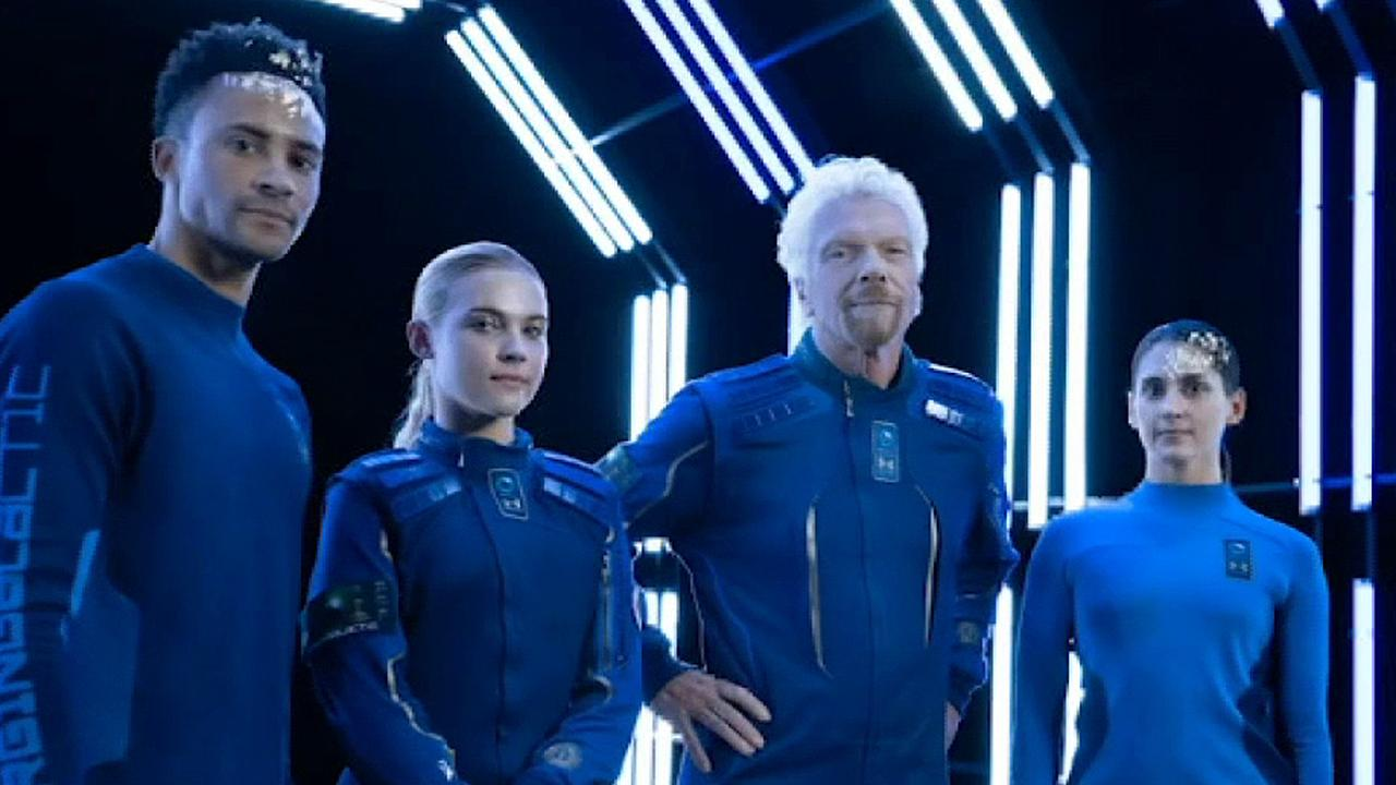 Fox Business Briefs: Virgin Galactic partners with Under Armour to create spacesuits for private astronauts.