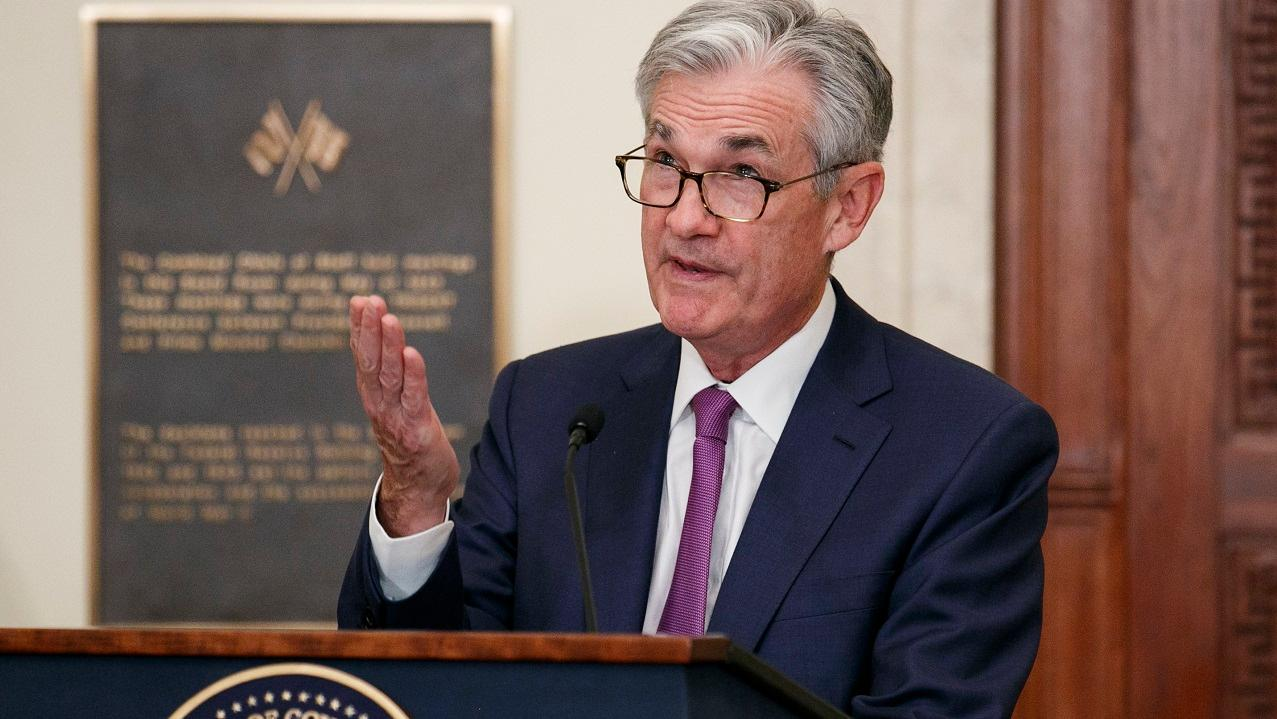 Federal Reserve Chairman Jerome Powell discusses why he monitors the yield curve to determine risk.