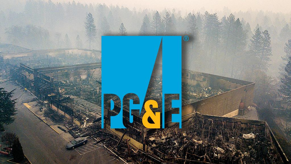 PG&E crashes after admitting power line could've caused California ...