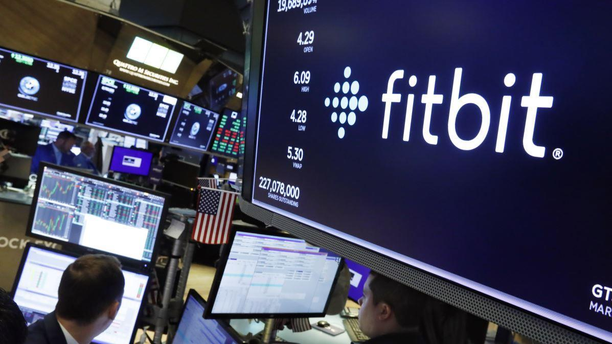 Fitbit stock prices rise as Reuters reports Alphabet's bid to buy the company and Apple unveils the new AirPods Pro. FOX Business' Connell McShane with more.