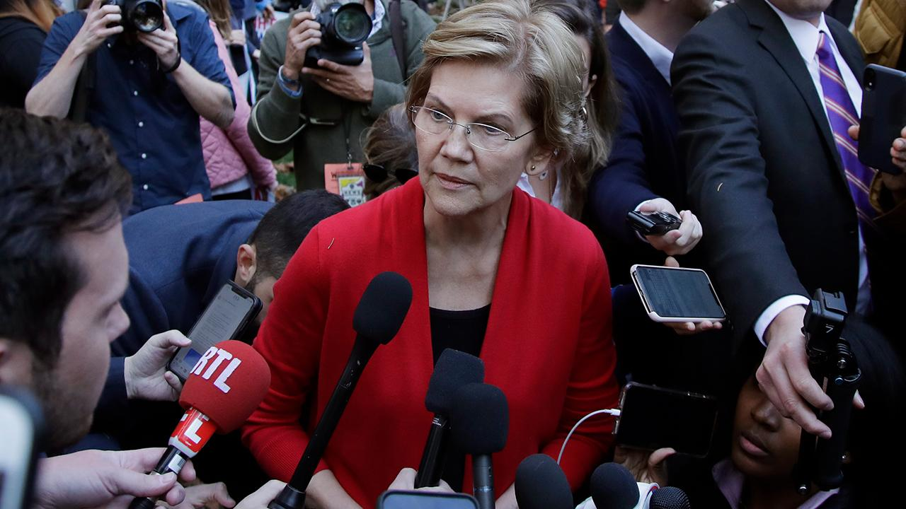 Americans for Tax Reform president Grover Norquist discusses 2020 candidate Sen. Elizabeth Warren and how she will pay for her health care plans.