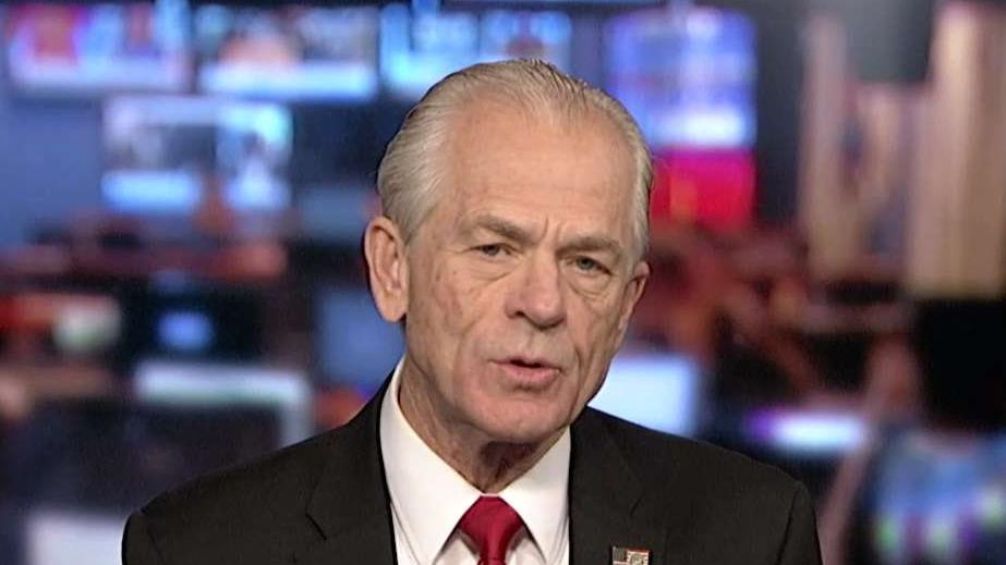 White House assistant for trade and manufacturing Peter Navarro discusses China's rise as a military and economic superpower while celebrating the 70th anniversary of the Communist Party.