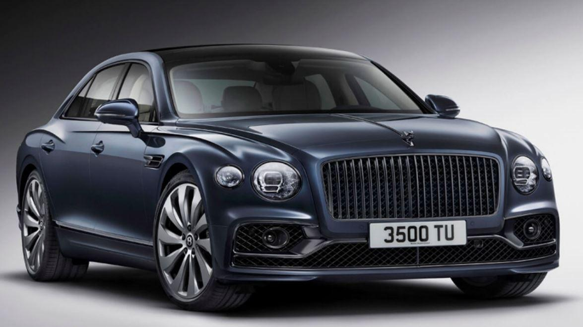 Bentley Americas CEO Christophe Georges discusses the new Bentley Flying Spur and the luxury automotive market.