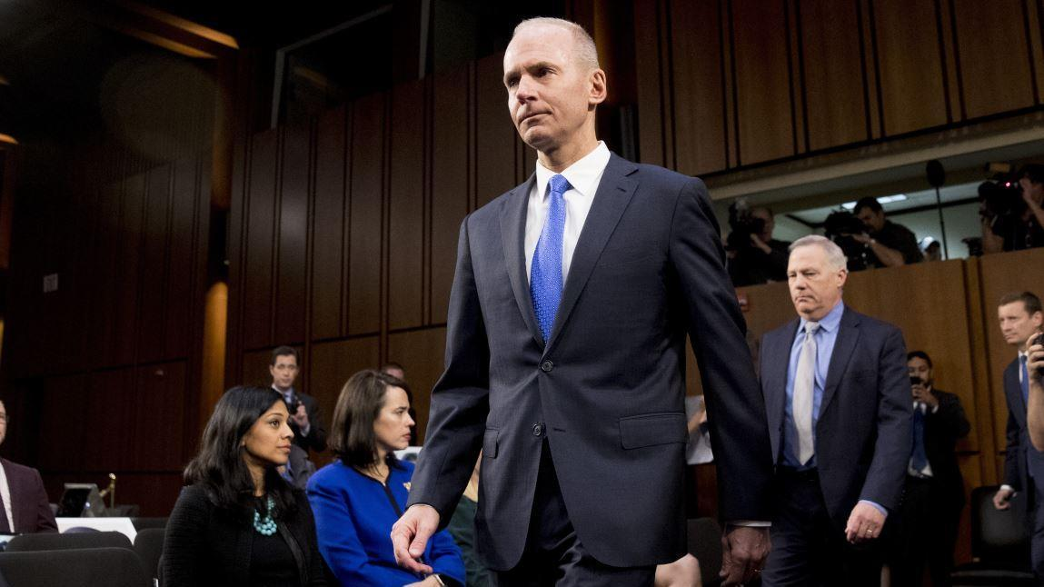 Boeing CEO Dennis Muilenburg discusses the mistakes made by Boeing with the 737 Max on the anniversary of the first crash ahead of his testimony before Congress.