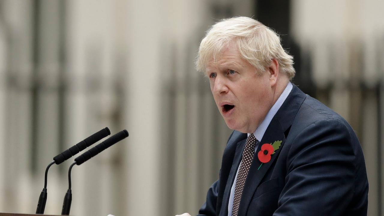 U.K. Prime Minister Boris Johnson argues a Brexit deal can release a pent up flood of investment.