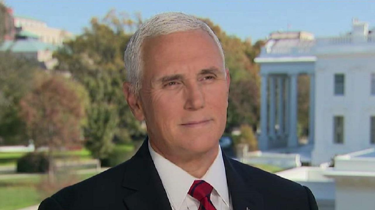 Vice President Mike Pence talks exclusively with FOX Business about the 2020 presidential election, American courts, the military, the economy and more.