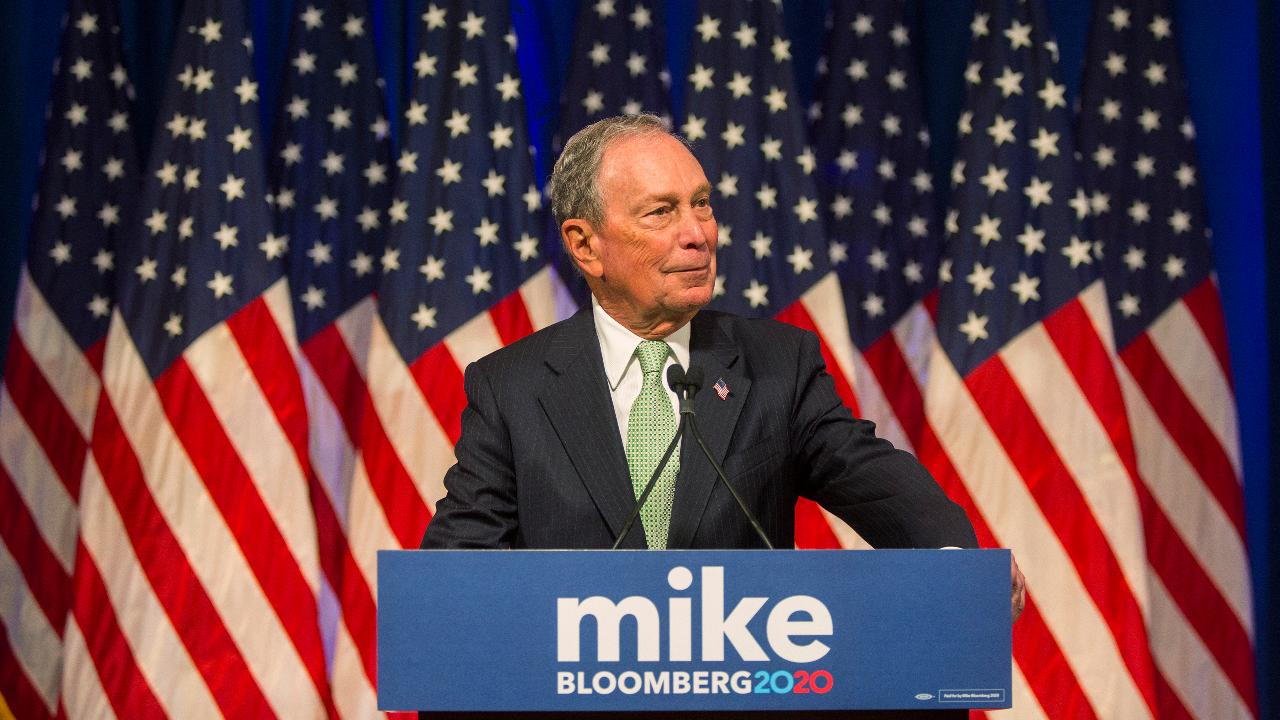 Former Republican presidential candidate Steve Forbes discusses Michael Bloomberg's candidacy in the 2020 election.