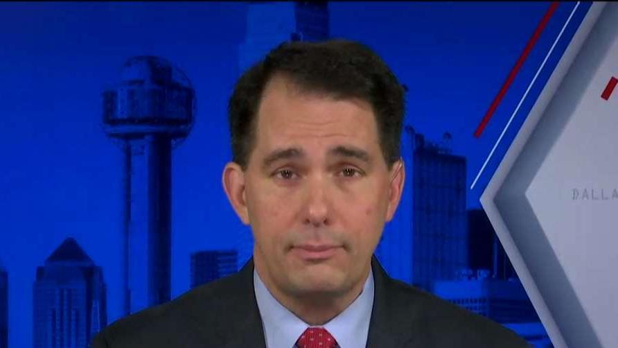 Former Wisconsin Gov. Scott Walker (R) discusses FoxConn and the pivotal role the economy will play for voters in his state in the 2020 election. Kingsview Asset Management CIO Scott Martin reacts to Gov. Walker's statements.