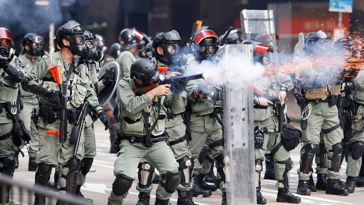 Next Digital Founder and Hong Kong democracy advocate Jimmy Lai discusses the escalation of violence in Hong Kong as police clash with protesters at a university in the city and Hong Kong's upcoming elections.