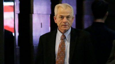 White House trade adviser Peter Navarro touts the Trump economy as 'the strongest in the world.'
