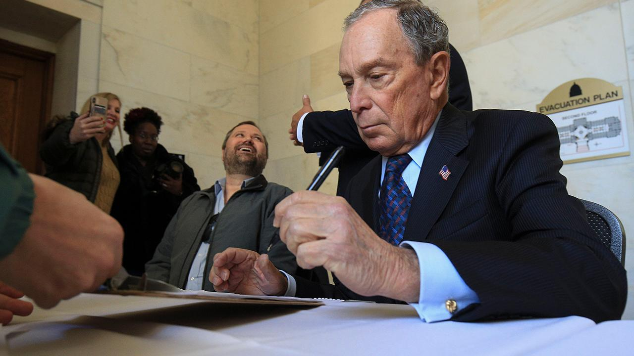 FOX Business' Charlie Gasparino reports that former New York City Mayor Michael Bloomberg is hiring additional campaign staff as the 2020 presidential race draws near, even though he hasn't officially announced his intentions.