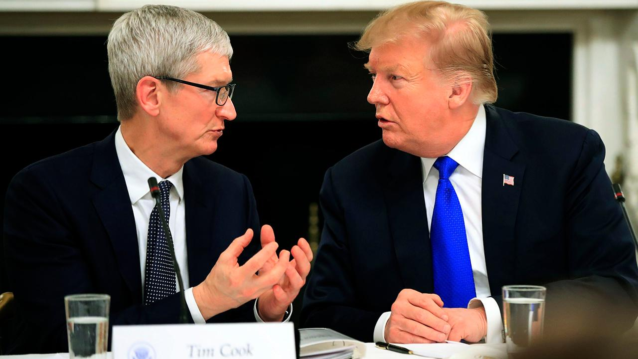 Tigress Financial Partners CIO and director of research Ivan Feinseth discusses how Apple CEO Tim Cook has been one of the few business leaders to successfully work with President Trump on a trade and economic front.