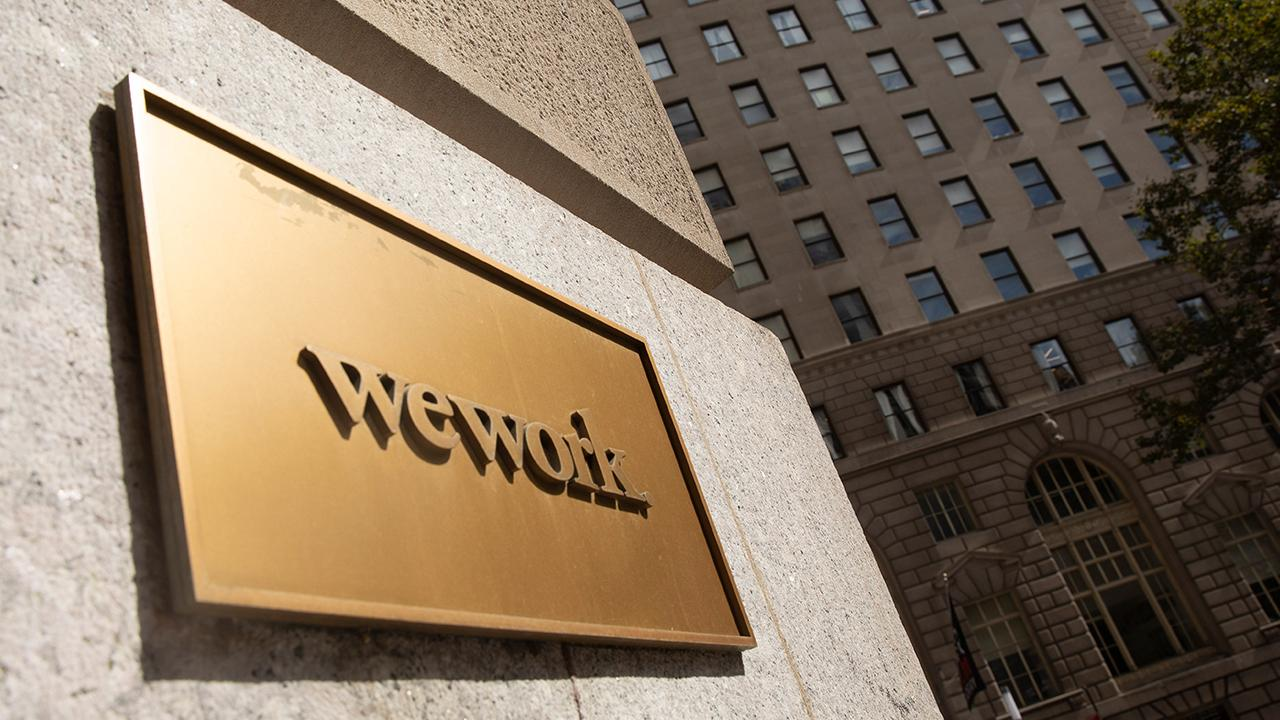 FOX Business' Charlie Gasparino discusses the latest news surrounding WeWork, which is reportedly considering hiring T-Mobile's John Legere as CEO.