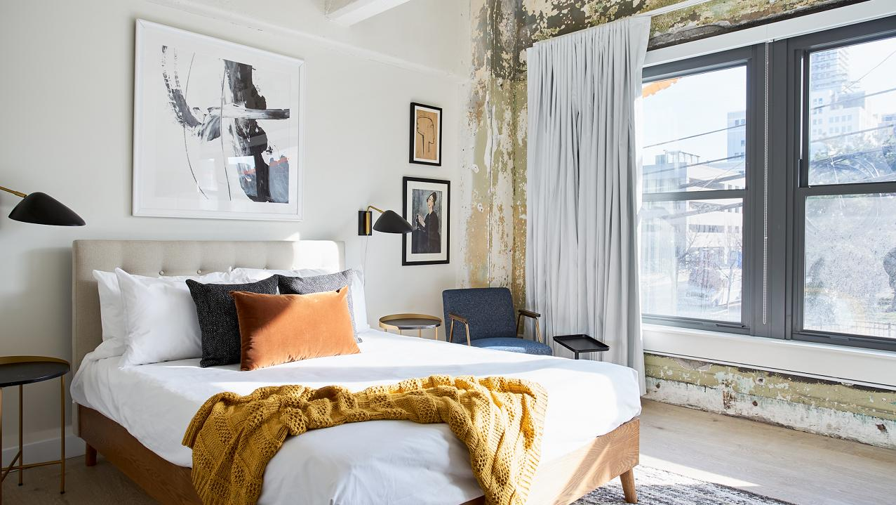Sonder CEO Francis Davidson discusses how his company is competing with Airbnb and the hotel industry.