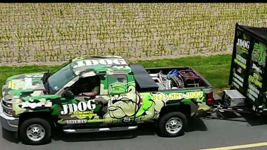 JDog Junk Removal and Hauling is a veteran-owned company started by Jerry and Tracy Flanagan that is hiring veterans.