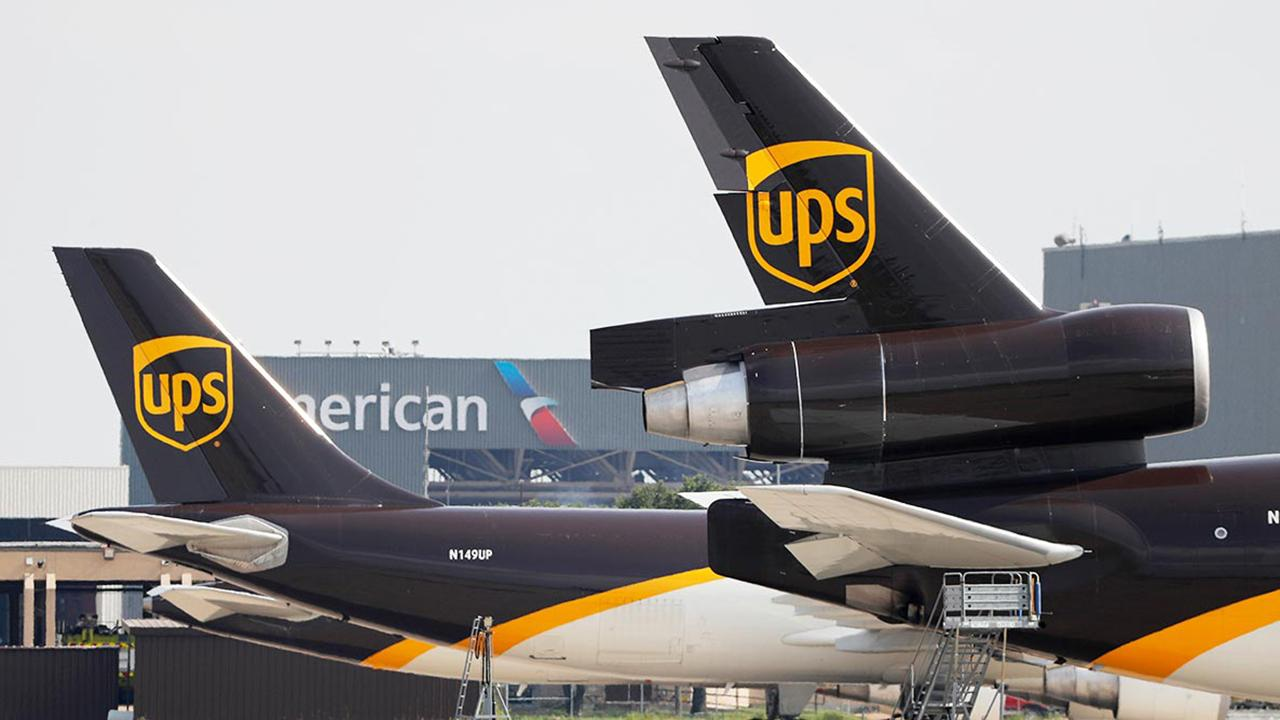 Morning Business Outlook: UPS is forecasting record-breaking online shopping returns this holiday season; Mattel-owned American Girl debuts a $5,000 doll covered in Swarovski crystals.