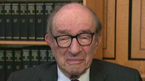 Former Federal Reserve Chairman Alan Greenspan says China tariffs have been a deterrent on the economy.