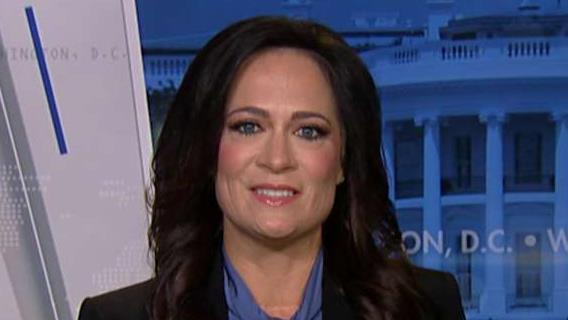 White House press secretary Stephanie Grisham says the White House is not worried about anyone running against President Trump.