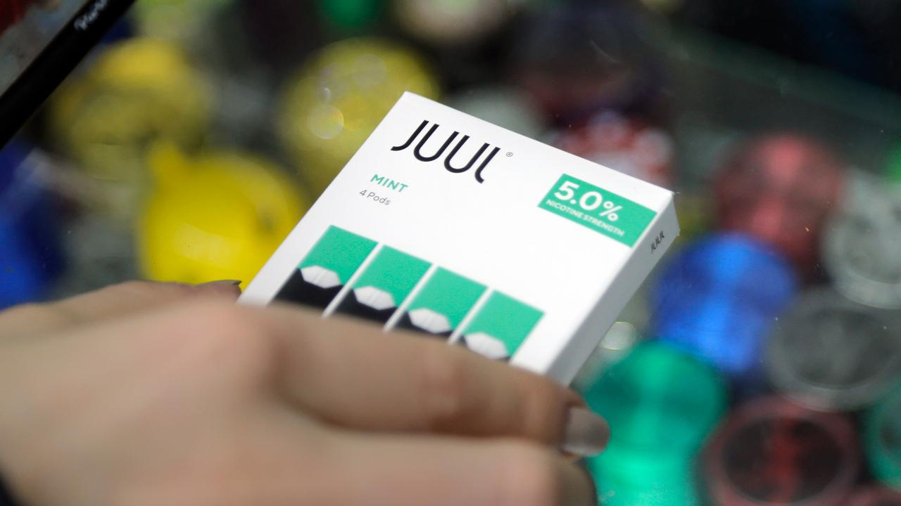 Juul intends to stop the sales of mint Juul pods in the U.S.