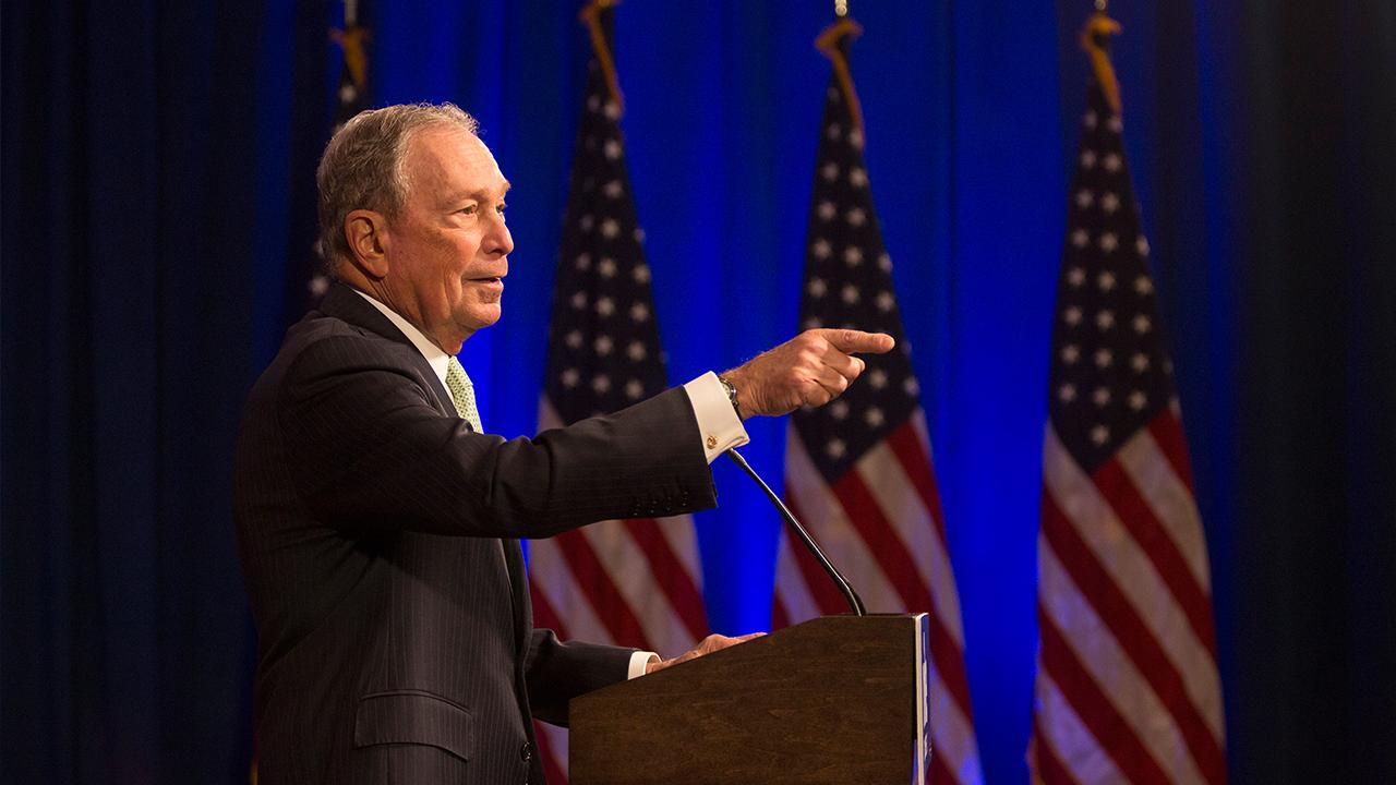 Westlake Legal Group 854081161001_6109316692001_6109311688001-vs Tom Basile: Can billionaire Bloomberg buy his way into the White House? Tom Basile fox-news/politics/elections fox-news/politics/2020-presidential-election fox-news/person/michael-bloomberg fox-news/person/donald-trump fox-news/opinion fox news fnc/opinion fnc bb648e3e-4a2a-52cd-8b06-2d675ec2a60e article