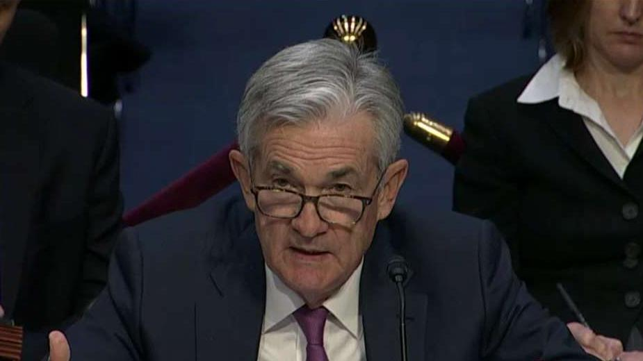 Federal Reserve Chairman Jerome Powell discusses the possible explanations for the economy experiencing a slower rate of wage growth than might otherwise have been expected.
