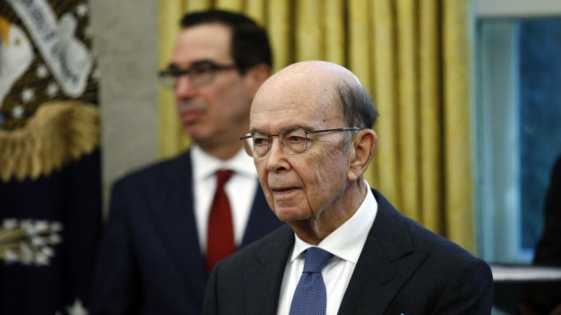 Commerce Secretary Wilbur Ross discusses national security concerns over Huawei 5G being used in the U.S. and concerns over sharing information with countries that use Huawei 5G technology.