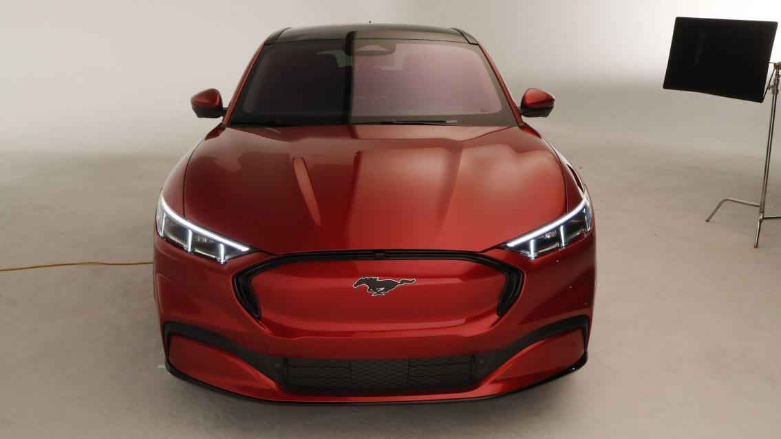 FOX Business' Jeff Flock on the Ford Mustang Mach E electric SUV unveiled at the Los Angeles auto show. He also asks Ford CEO Jim Hackett about the all-electric Mustang SUV.