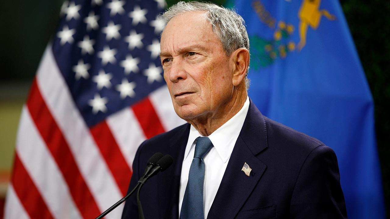 FOX Business' Stuart Varney on how Democratic presidential candidates are reacting to former New York City Mayor Michael Bloomberg potentially entering the 2020 race.