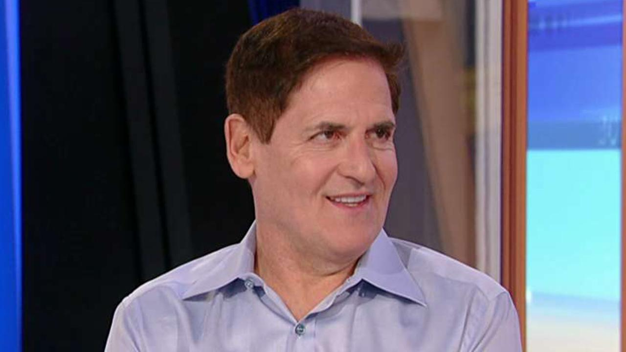 Dallas Mavericks owner Mark Cuban discusses capitalism vs. socialism approaching the 2020 election and the effectiveness of Elizabeth Warren's wealth tax.