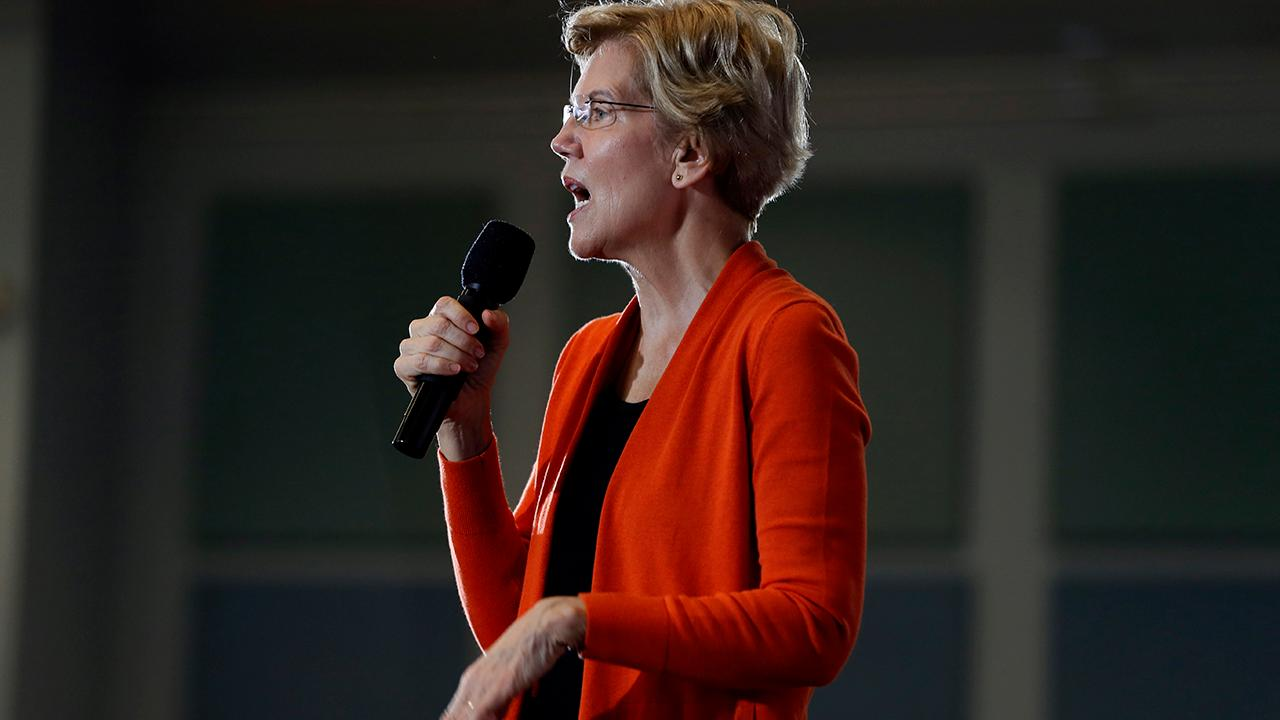 FOX Business' Charlie Gasparino reports that Democrats, especially in corporate America, are lining up against Sen. Elizabeth Warren becoming the nominee.