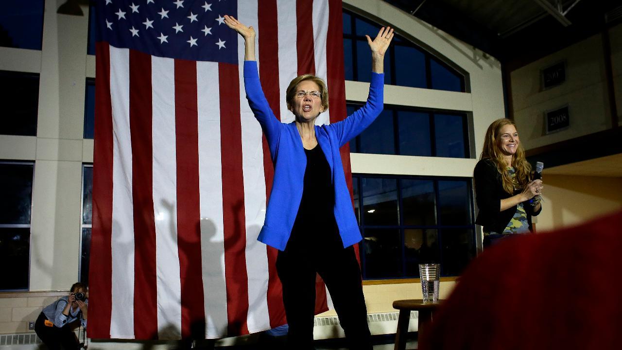 FOX Business' Lauren Simonetti breaks down Elizabeth Warren's political ad.